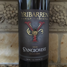 2014 Sangiovese (Black Label Reserve)